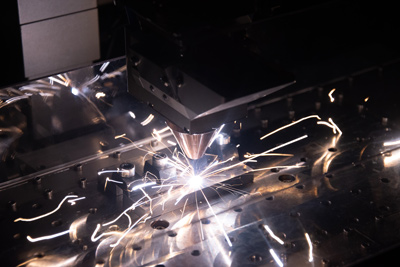 Fabrication additive par fusion laser de fil