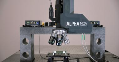 Double laser microscope station